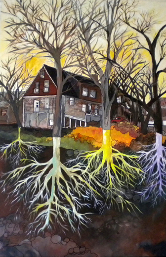 roots-wambach-house-roots-trees-painting